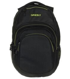 Рюкзак GRIZZLY Stage Lime черно-салатовый RU-700-1/3