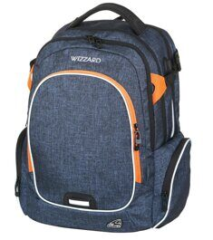Рюкзак WALKER WIZZARD Campus Blue Melange