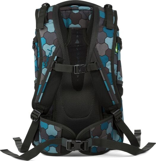 Рюкзак ERGOBAG Satch Pack OCEAN FLOW