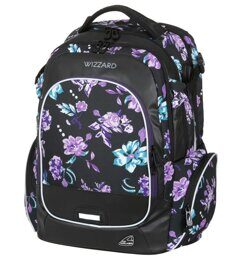 Рюкзак WALKER WIZZARD Campus Flower Violet